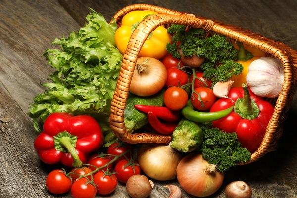 Продукты с большим содержанием витамина В9