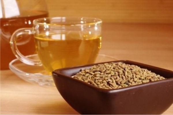 Желтый чай с пажитником