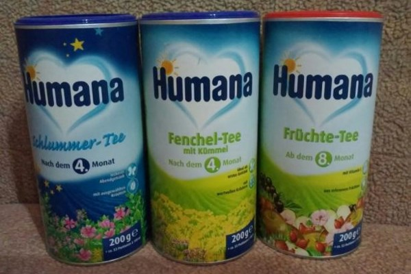 Чай Humana в упаковке