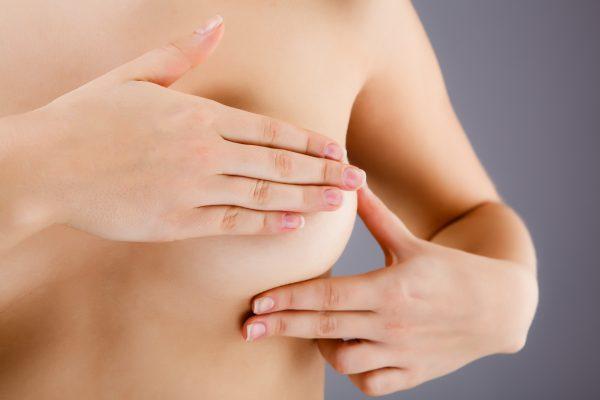 Как прощупать грудь