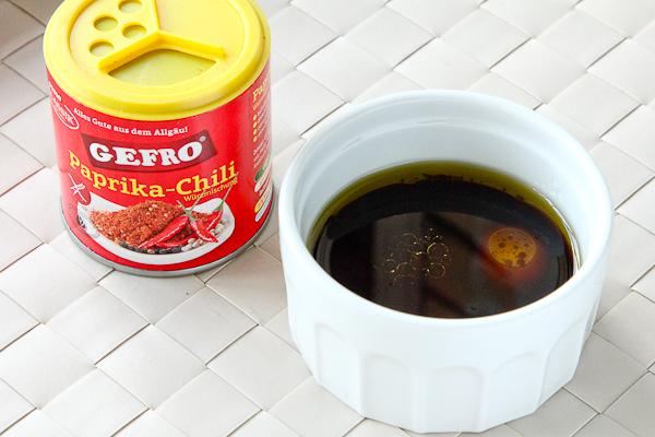Соевый соус в чашке