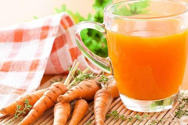 Морковный кисель домашнего приготовления