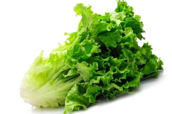 Свежий салат листовой