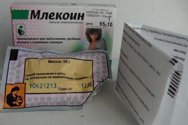 Инструкция и упаковка Млекоин