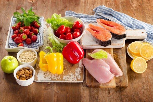 Рацион питания для женщины