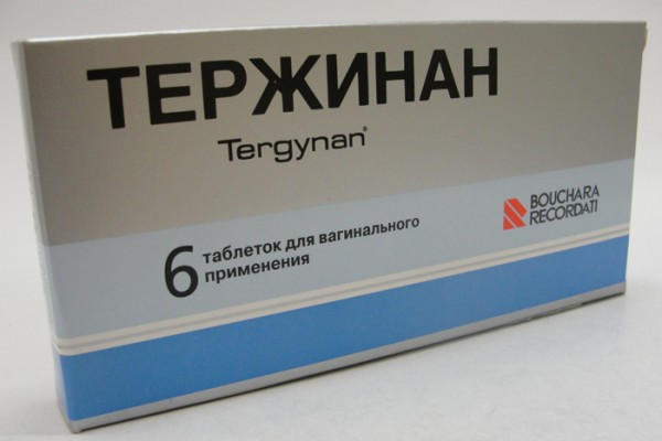 Упаковка препарата Тержинан