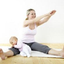 Спорт во время грудного вскармливания