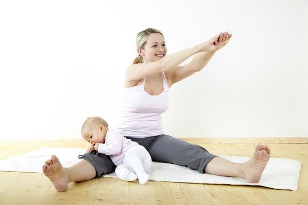 Гимнастика вместе с малышом
